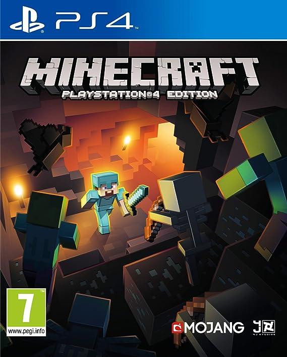Minecraft - Edición Estándar, PlayStation 4, Disco, Versión 118: Amazon.es: Videojuegos