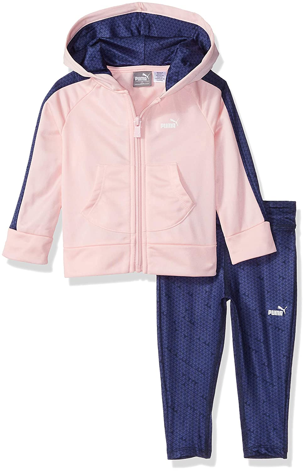 78926dd91 Amazon.com  PUMA Toddler Girls  Track Jacket and Legging Set  Clothing