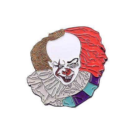 Pennywise The Clown IT 2017 Horror Movie Enamel Pin Lapel