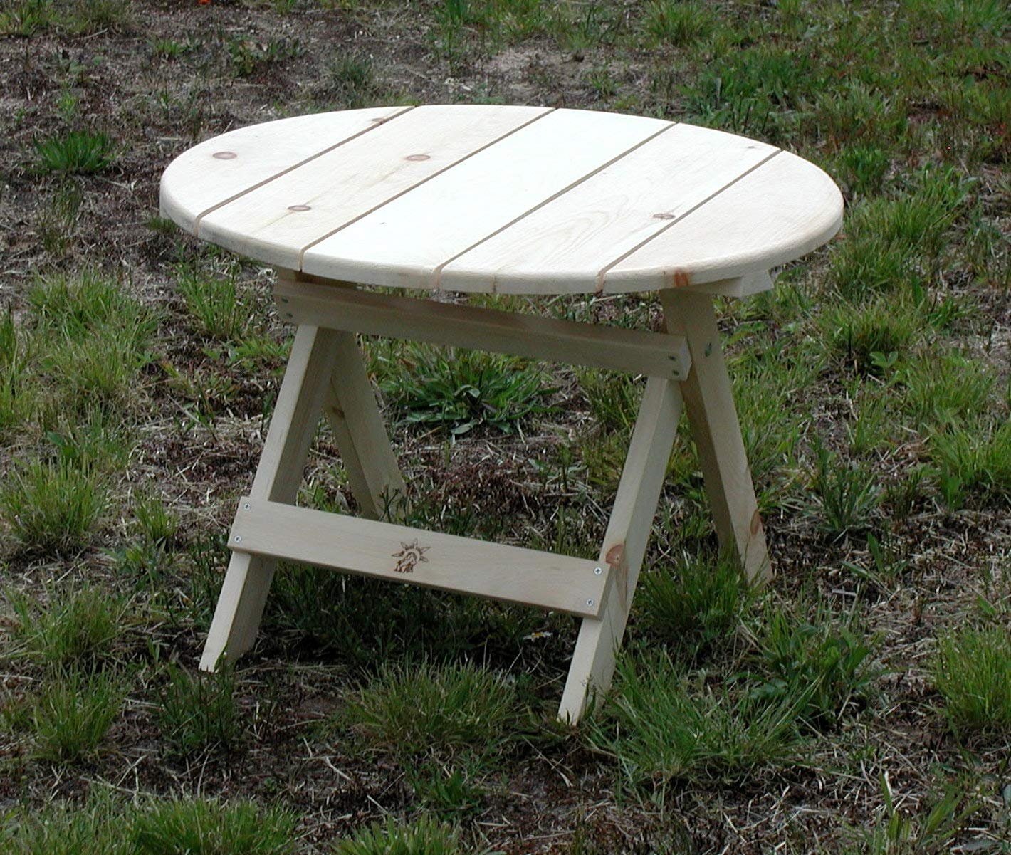 Amazon Com Rustic Natural Cedar Furniture 040002p Pine 28 Round