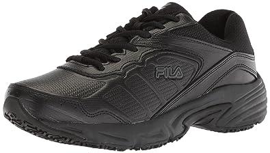 48b52a8eba4 Fila Women s Memory Runtronic Slip Resistant Work Shoe