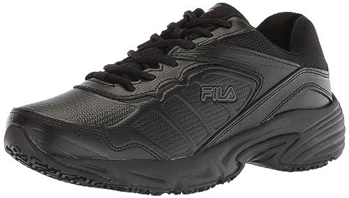 c3f02c6b55 Fila Women's Memory Runtronic Slip Resistant Work Shoe