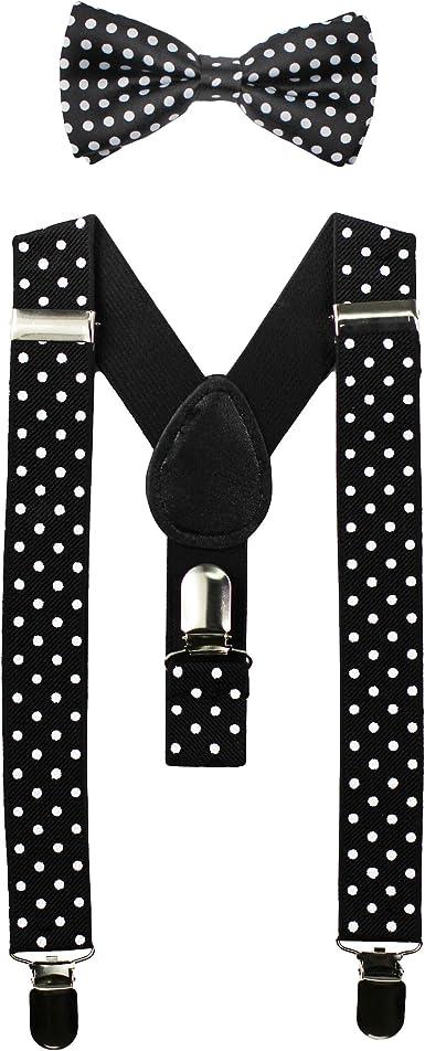 polka dot suspenders pink bowtie black suspenders toddler bow tie and suspenders set polka dots baby boy clothes black suspender
