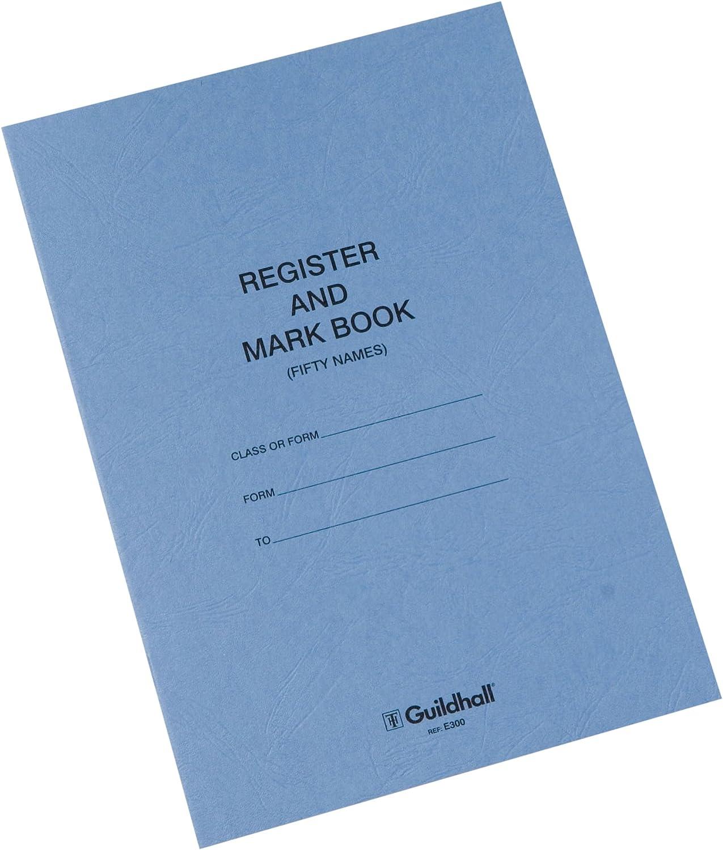 Attendance or Mark Dinner 2 x Guildhall Teacher School Register Record Books