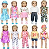 ARTST 18 inch Doll Clothes Accessories - Compatible with American Girl Dolls, 18 Inch Dolls, My Life Dolls, Our…