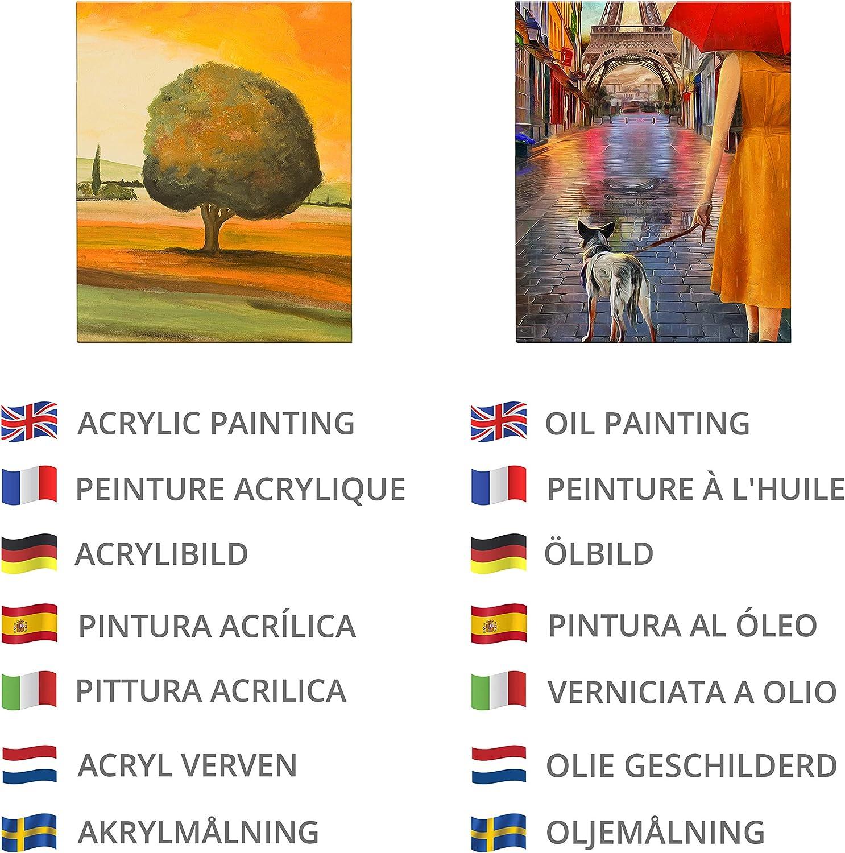 LAITER 12 St/ücke Leinwandrahmen zum Malen Leinwand Malleinwand Quadratische Leinw/ände in Verschiedenen Gr/ö/ßen F/ür Handwerk Malerei Zeichnung 10cm x 10cm, 15cm x 15cm, 20cm x 20cm, 25cm x 25cm