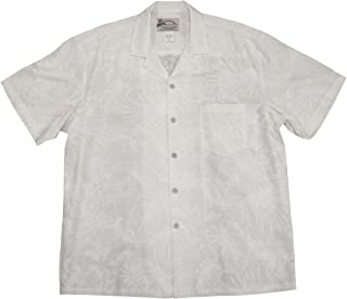 product image for Paradise Found Mens Midnight Garden Wedding White Shirt 6X