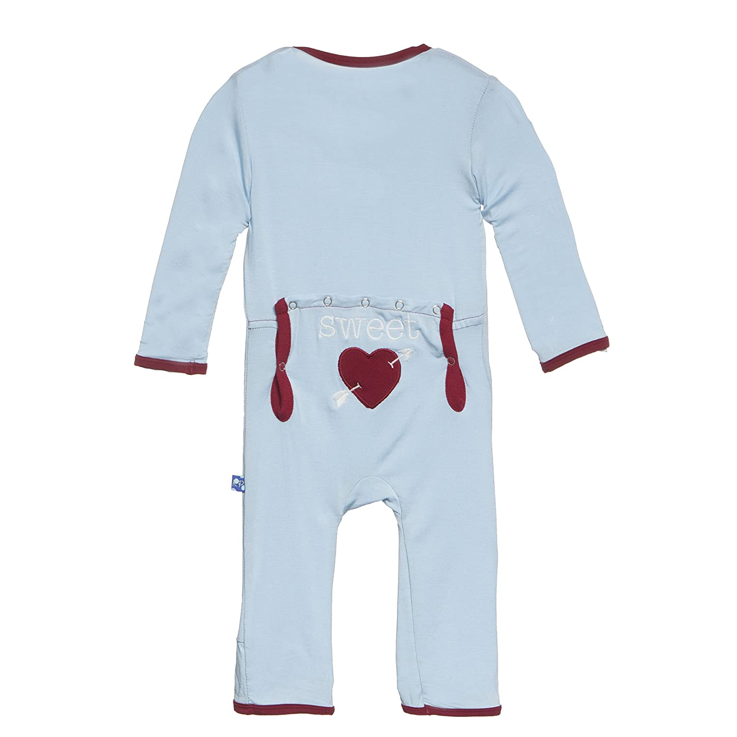 Amazon KicKee Pants Boys Fitted Applique Coverall Pond Sweet