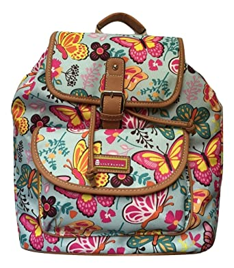 Lily Bloom Lizzy Backpack (Woodland Butterflies)
