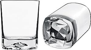 Luigi Bormioli On The Rocks 13.5 oz DOF Double Old Fashioned Glasses (Set Of 4), Clear