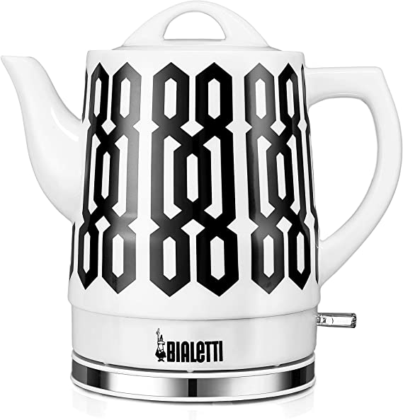 Bialetti (35027) Trellis Pattern Electric Ceramic Kettle