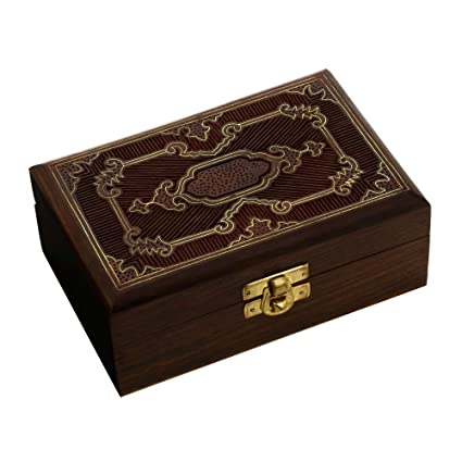 Amazoncom Handmade Jewelry Box Wood Carved Unusual Gifts for