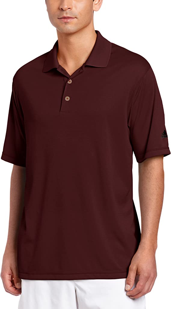 adidas Golf Men's Climalite Solid Polo Shirt