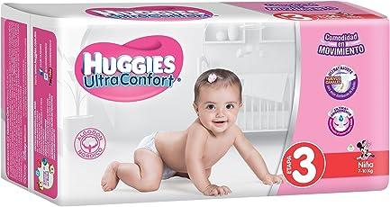 Huggies Ultraconfort, Niña, Etapa 3, 216 Pañales