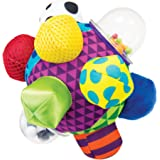 Sassy Developmental Bumpy Ball | Easy to Grasp Bumps Help Develop Motor Skills | for Ages 6 Months and Up