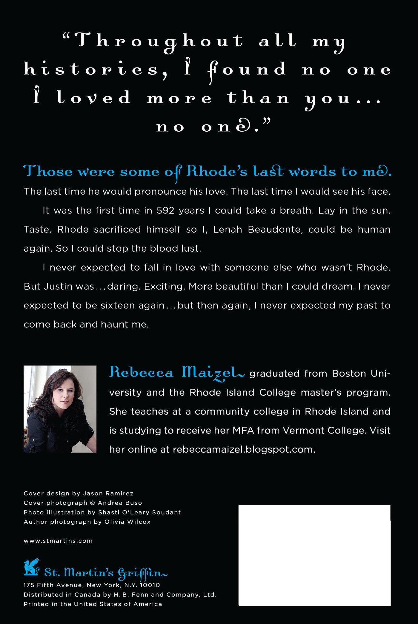 Amazon: Infinite Days: A Vampire Queen Novel (9780312649913): Rebecca  Maizel: Books