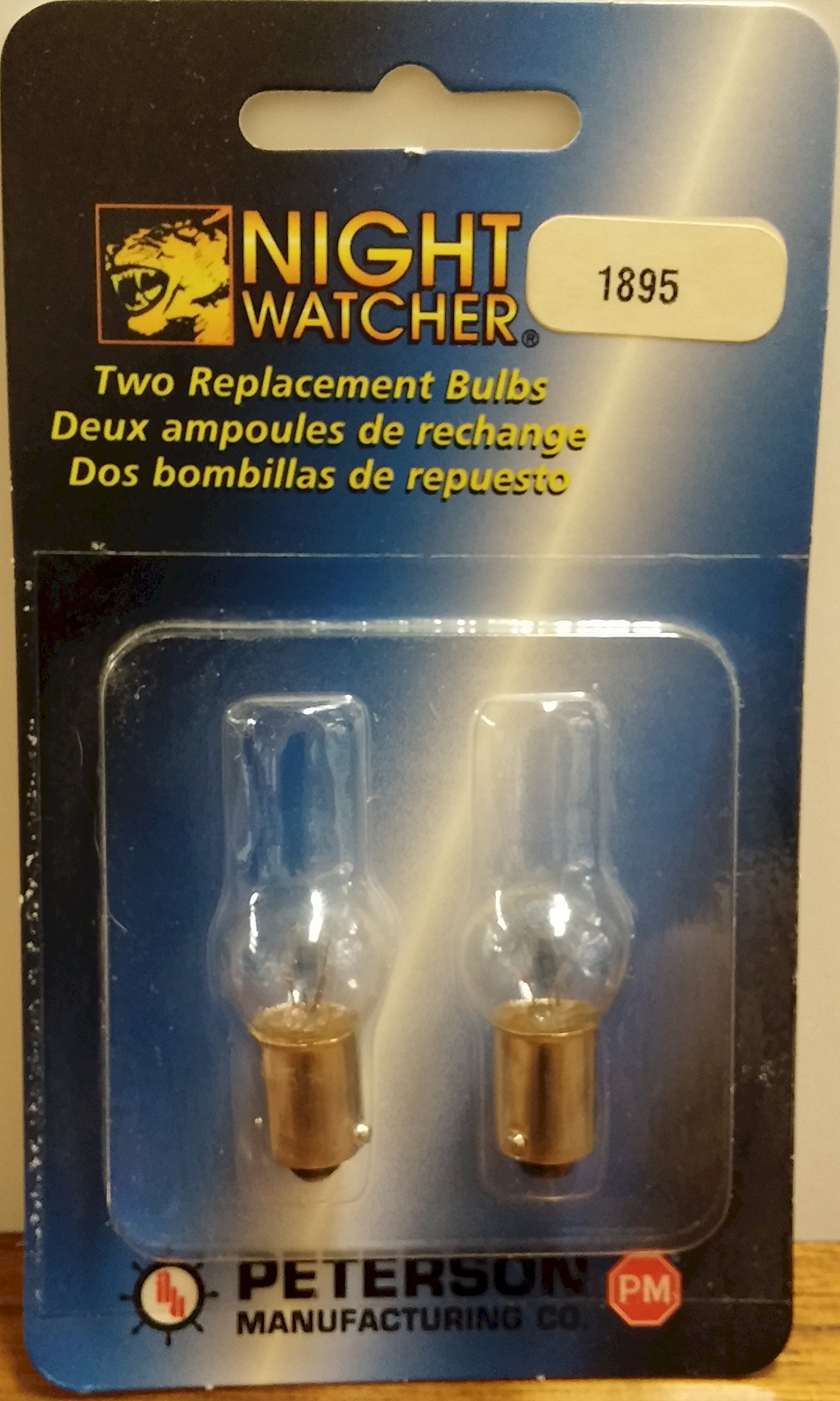 Two Replacement Light Bulbs #1895 14V/2CP