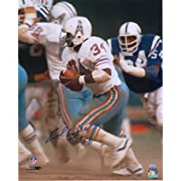 "$99 » Earl Campbell Houston Oilers Autographed 16"" x 20"" Side Running Photograph with""HOF 91"" Inscription - Fanatics Authentic Certified"