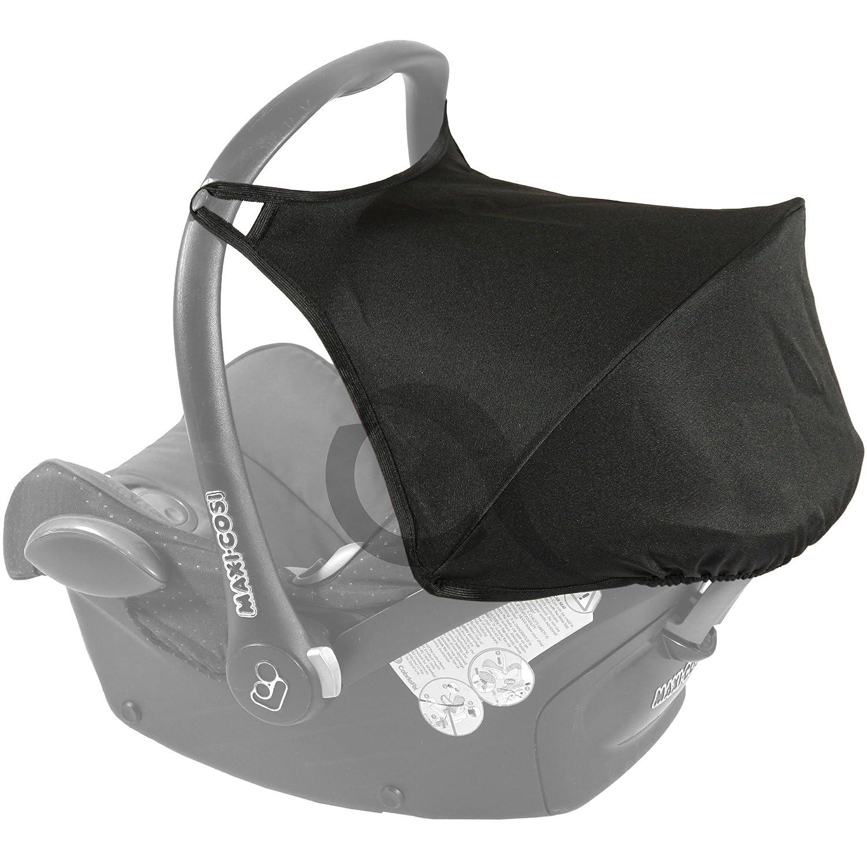 HOOD SUNSHADE CANOPY Fits MAXI COSI CABRIOFIX Car Seat New WATERPROOF Black Amazoncouk Baby