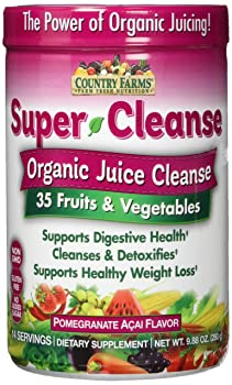 Country Farms Organic Delicious Super Juice Cleanse