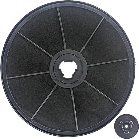 SPARES2GO Filtro de Carbón de Carbón Vent para Ariston Cocina Extractor de Humos: Amazon.es: Hogar