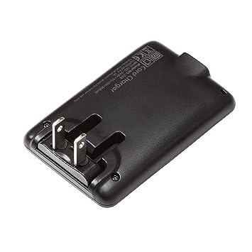 Amazon.com: Knomo EE. UU. Cargador de pared, Negro), USA USB ...