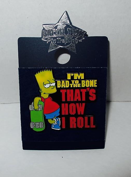 Amazon.com : Universal Studios Pin Trading - Simpsons - Bart ...