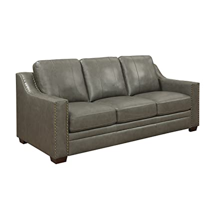 Amazon.com: Stylistics Harrison Leather Sofa, 83\