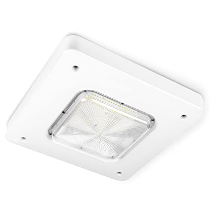 Hyperikon LED Canopy Light 100W (HID/HPS Replacement) Gas Station Canopy 13000  sc 1 st  Amazon.com & Hyperikon LED Canopy Light 100W (HID/HPS Replacement) Gas Station ...