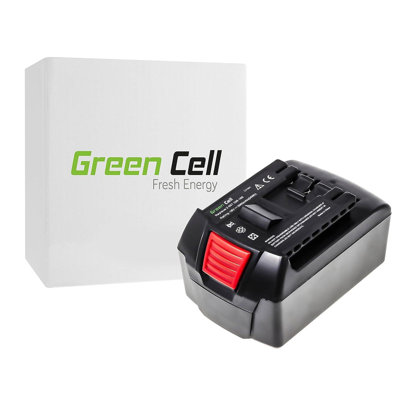 verde Cell® 2607336091 Utensili Elettrici Batteria per Bosch (Li-Ion pile 3000mAh 18V)