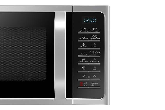 Samsung MC28H5015AS - Microondas (Encimera, combinado, 28 L, 900 W ...