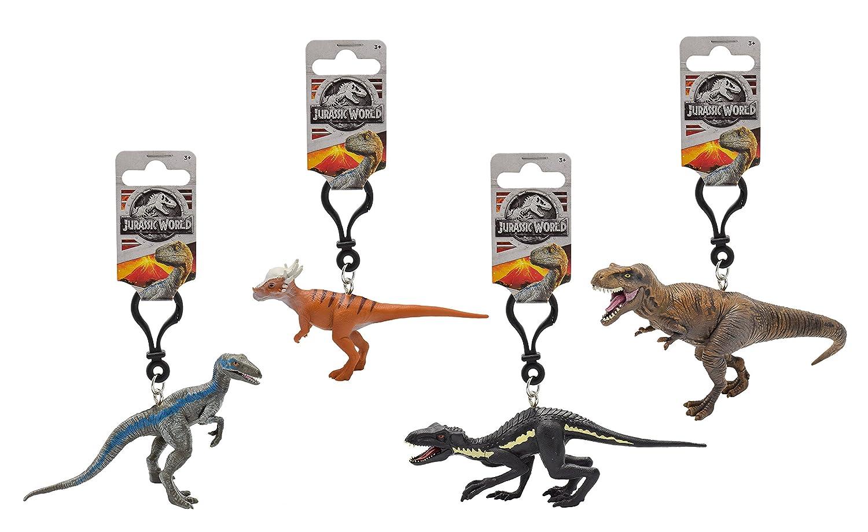Jurassic World 79172 3d PVC Llavero - Dinosaurio de la película, 7-11 cm, modelos surtidos, 1 unidad