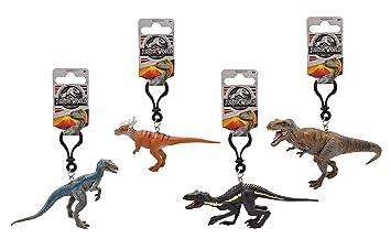 Jurassic World 79172 3d PVC Llavero - Dinosaurio de la película, 7-11 cm