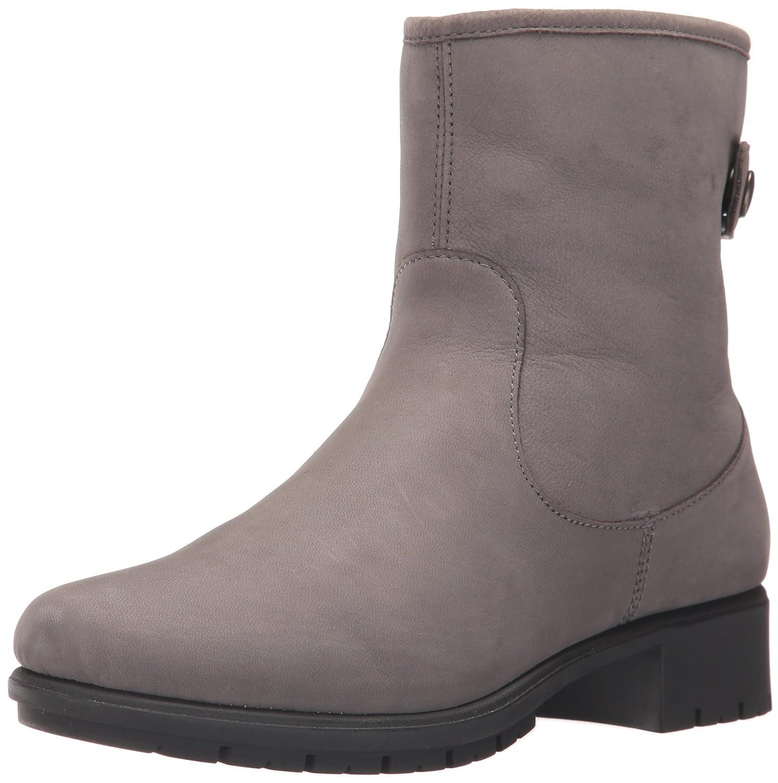 Aerosoles Women's Just Kidding Ankle Boot Dark Gray Nubuck