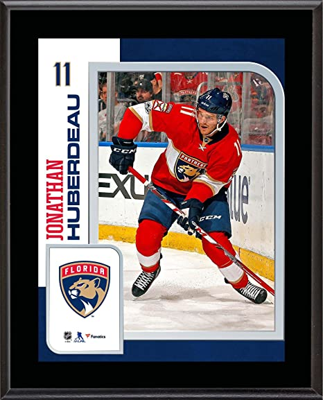 0dc0a966992 Jonathan Huberdeau Florida Panthers 10.5 quot  x 13 quot  Sublimated Player  Plaque - NHL Player Plaques