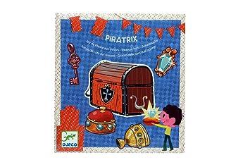 Piratrix Schatzsuche Partyspiel Geburtstagsspiel Amazonde Spielzeug