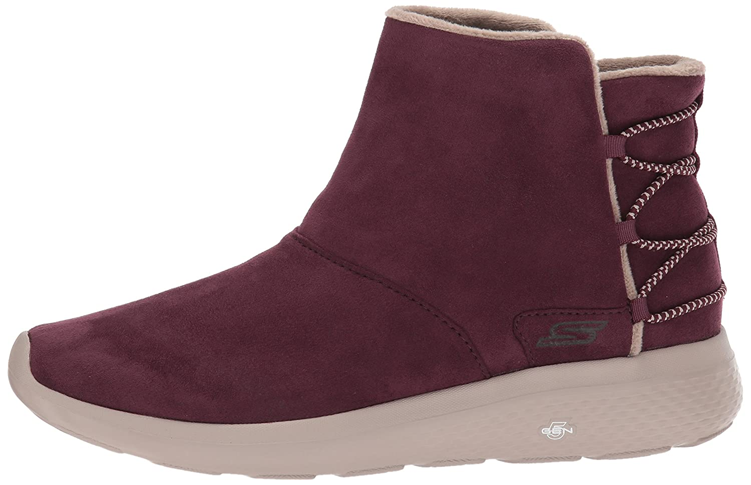 Skechers Women's on-The-Go City 2-Adapt Winter Boot B06X9QNRX2 6.5 B(M) US|Burgundy