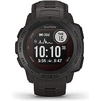Monitor Cardíaco de Pulso com GPS Garmin Instinct Solar Grafite WW
