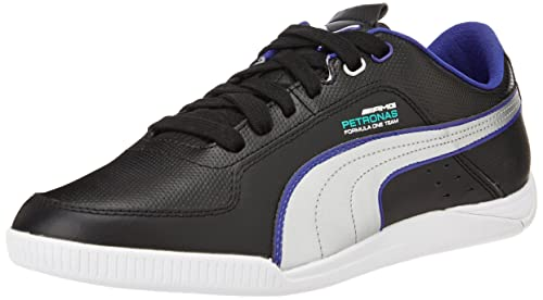 Team Silver Leather Running Shoes