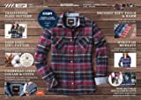 CQR Women's Flannel Long Sleeved Button-Up Plaid