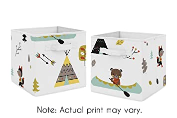 Outdoor Adventure Foldable Fabric Storage Cube Bins Boxes Organizer Toys  Kids Baby Childrens For Collection By