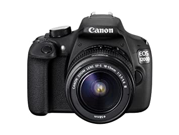 Canon EOS 1200D Digital SLR Camera with EF-S 18-55 mm f/3 5-5 6 III Lens