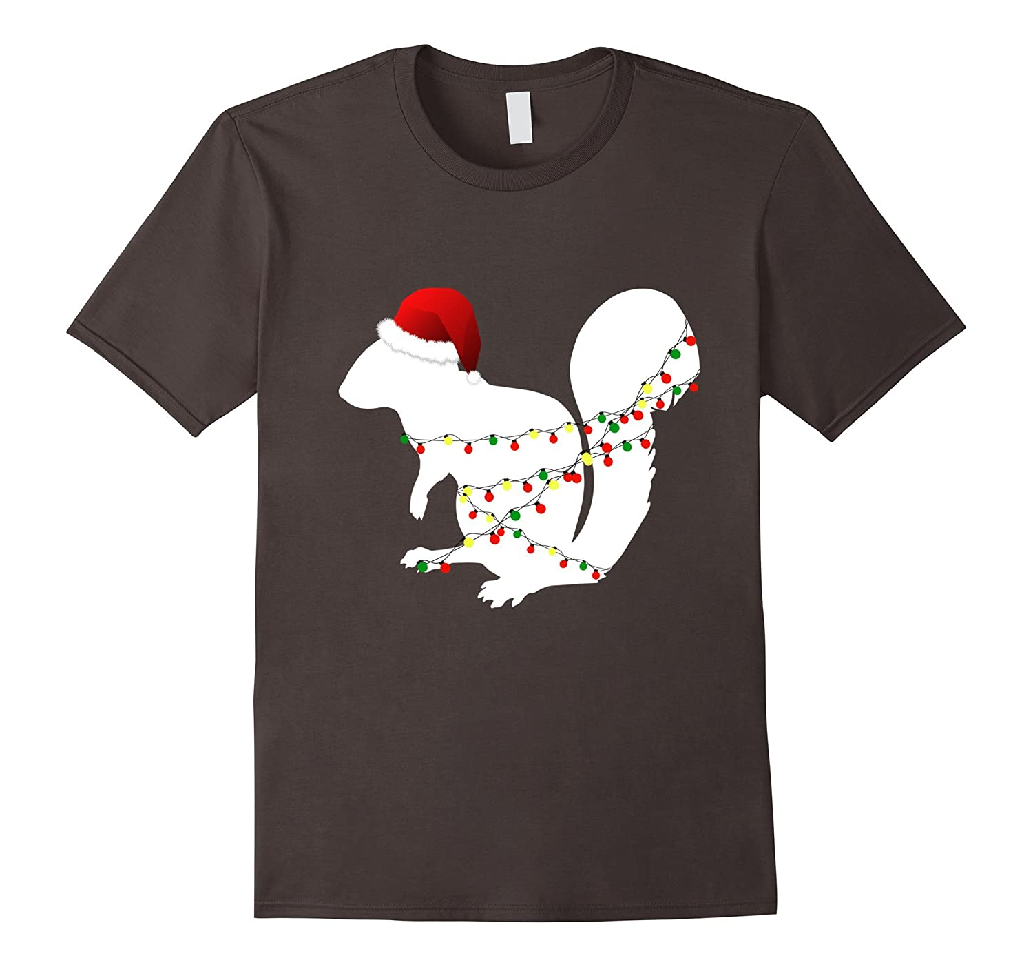 07309081de Funny Christmas Squirrel T-Shirt For Kids & Adults-RT – Rateeshirt
