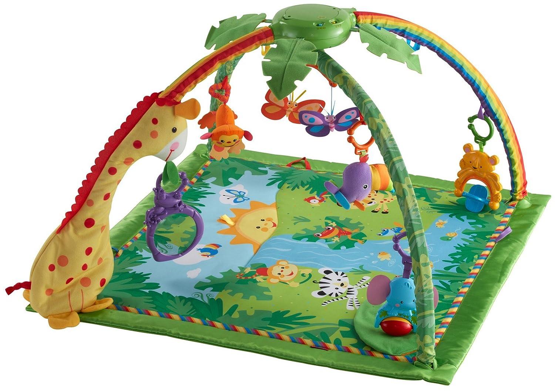 Spielzeug Krabbeldecken 3in1 Krabbeldecke Spieldecke Spielbogen Spielmatte Erlebnisdecke Musik Baby Gym GläNzende OberfläChe