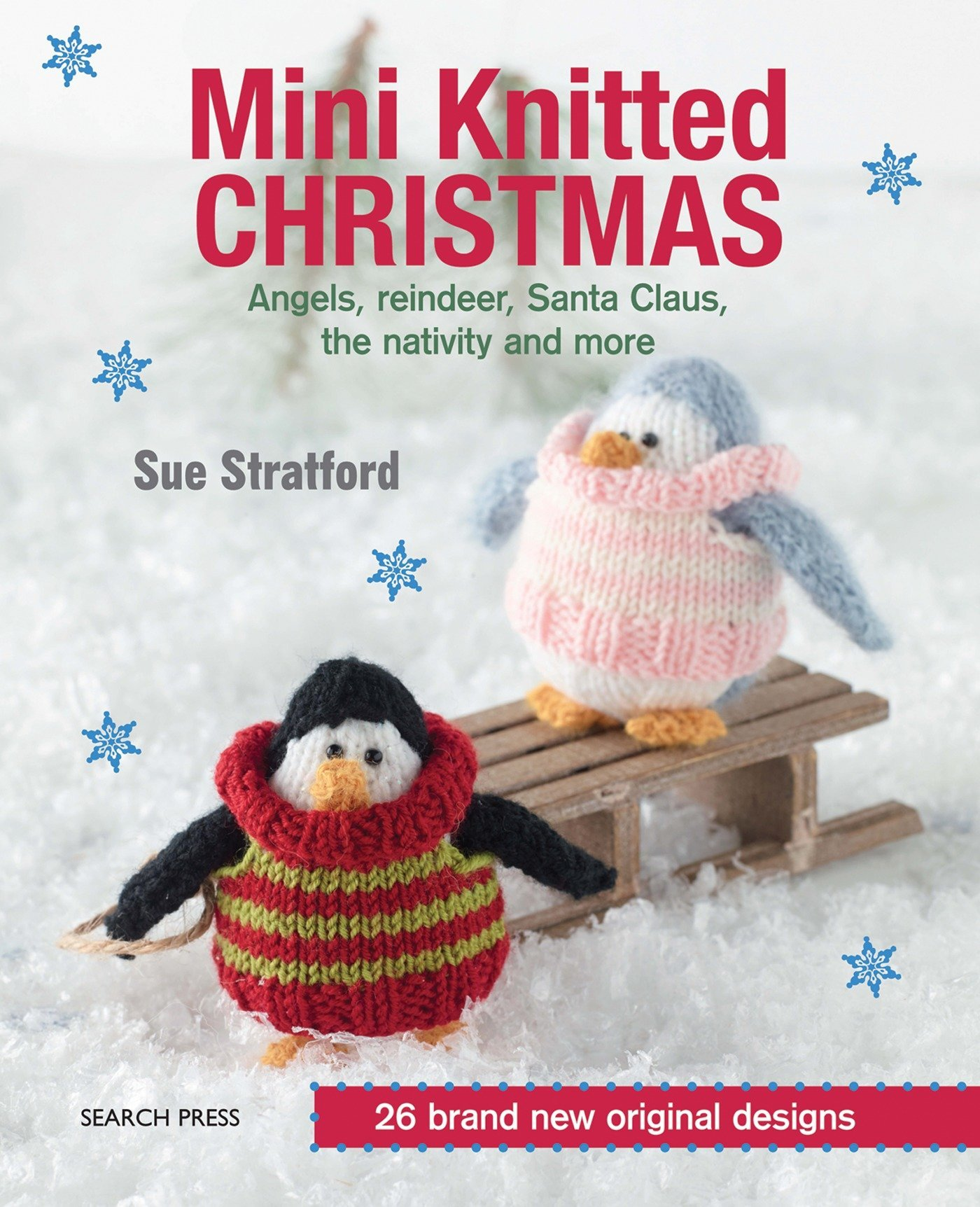 Deck the Halls Christmas crochet pattern book