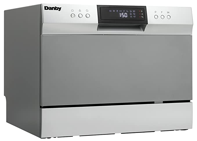 Amazon.com: Danby ddw631sdb Countertop lavaplatos ...