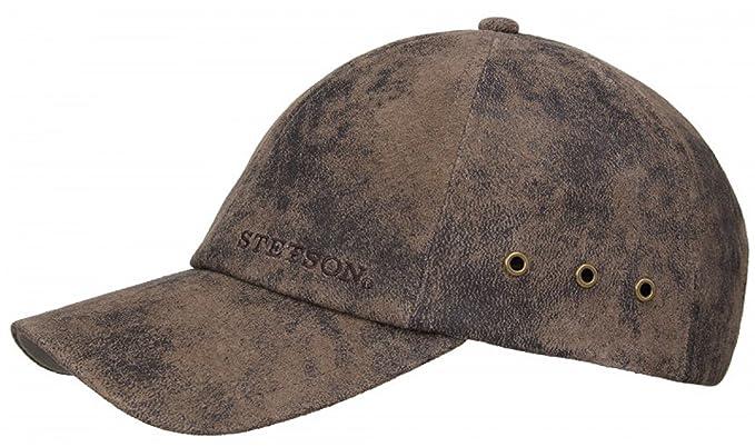 Stetson Rawlings Leather Adjustable Baseball Cap bc298d88c09