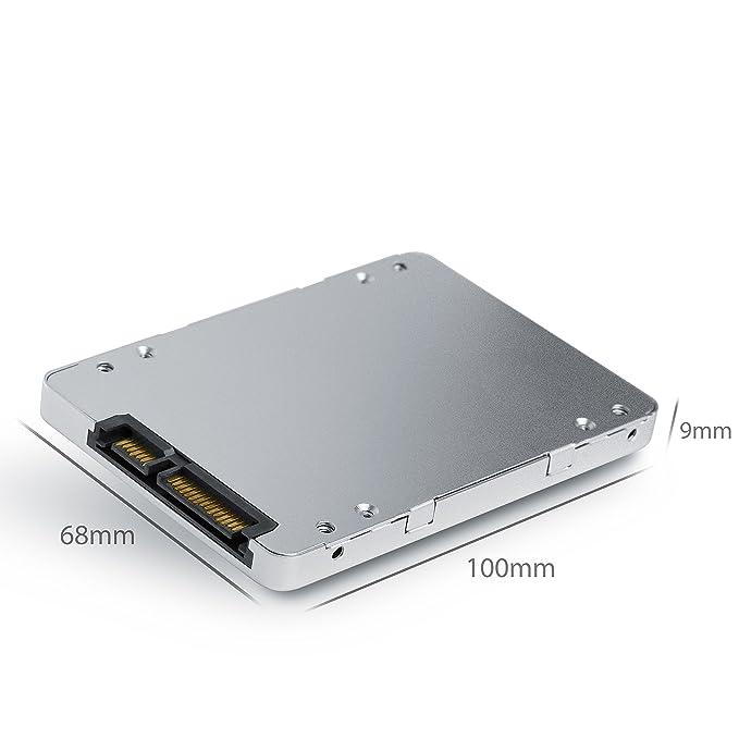 Cubierta adaptador SSD 8,89 cm (2,5 po) mSATA a SATA CSL ...