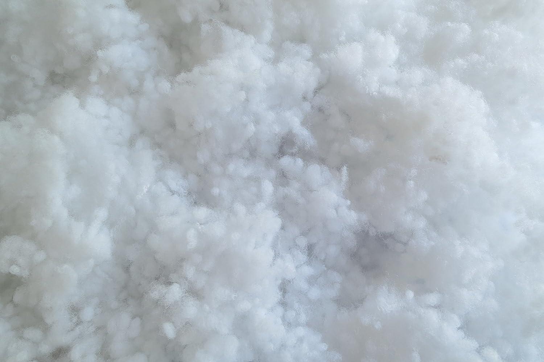 /Öko-Tex Standard 100 Polyester Faserk/ügelchen 1,5 kg, Produktklasse 1 EUR 10,47//kg Pl/üs geeignet als F/üllmaterial f/ür z.B Faserb/ällchen slick finish-Type maschinenwaschbar bis 60 /°C schwer entflammbar wei/ß
