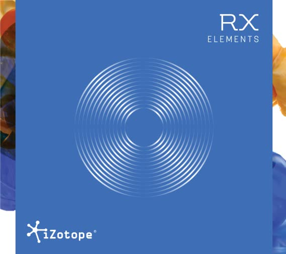 RX Elements: Audio Repair Plug-in, iZotope, Inc  [Online Code]